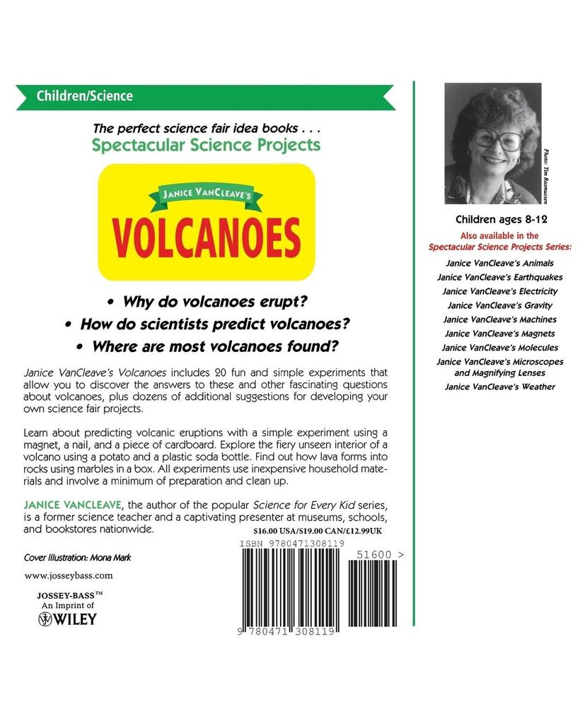 Janice VanCleave's Volcanoes: Mind-Boggling Experiments You Can Turn Into Science Fair Projects als Taschenbuch