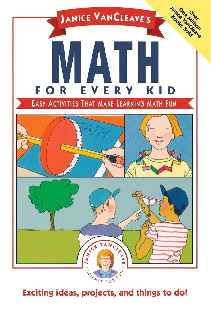 Janice VanCleave's Math for Every Kid als Taschenbuch