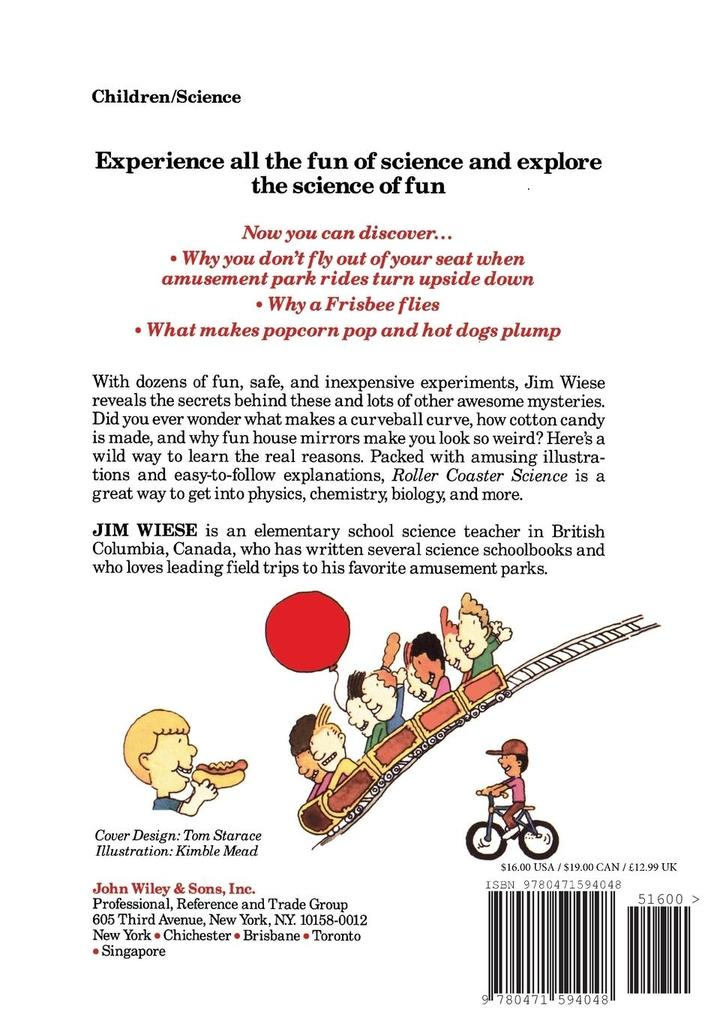 Roller Coaster Science als Taschenbuch