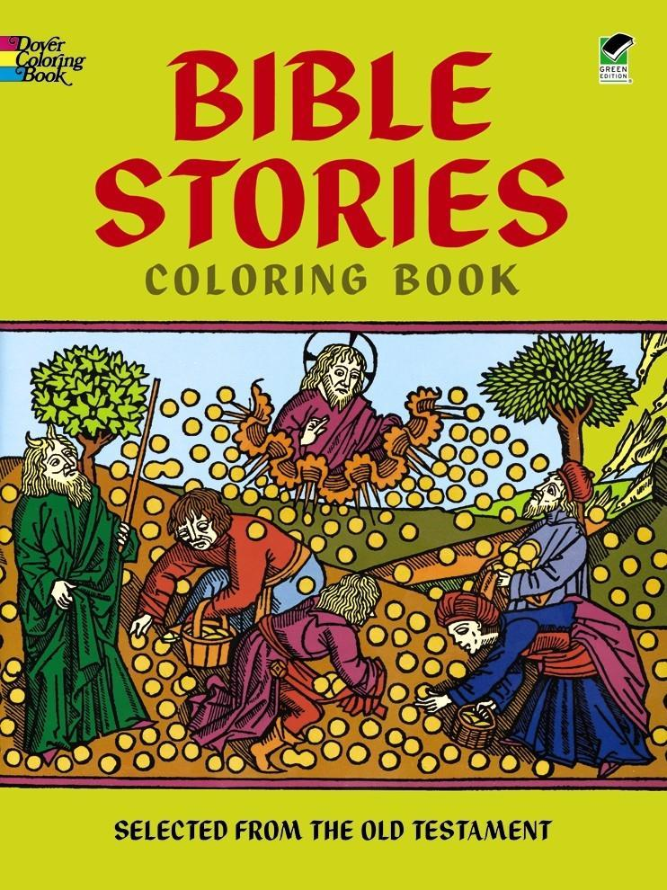 Bible Stories Coloring Book als Taschenbuch