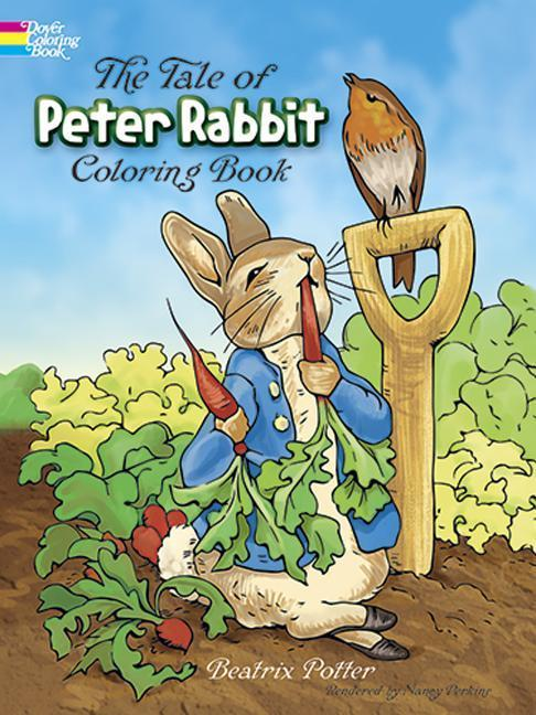 The Tale of Peter Rabbit: A Coloring Book als Taschenbuch