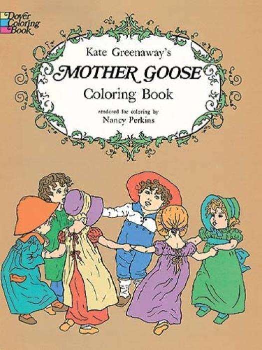 Kate Greenaway's Mother Goose Coloring Book als Taschenbuch