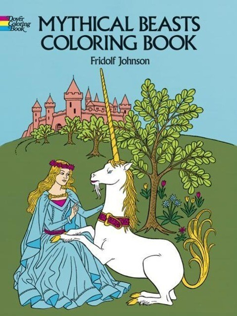 Mythical Beasts Coloring Book als Taschenbuch