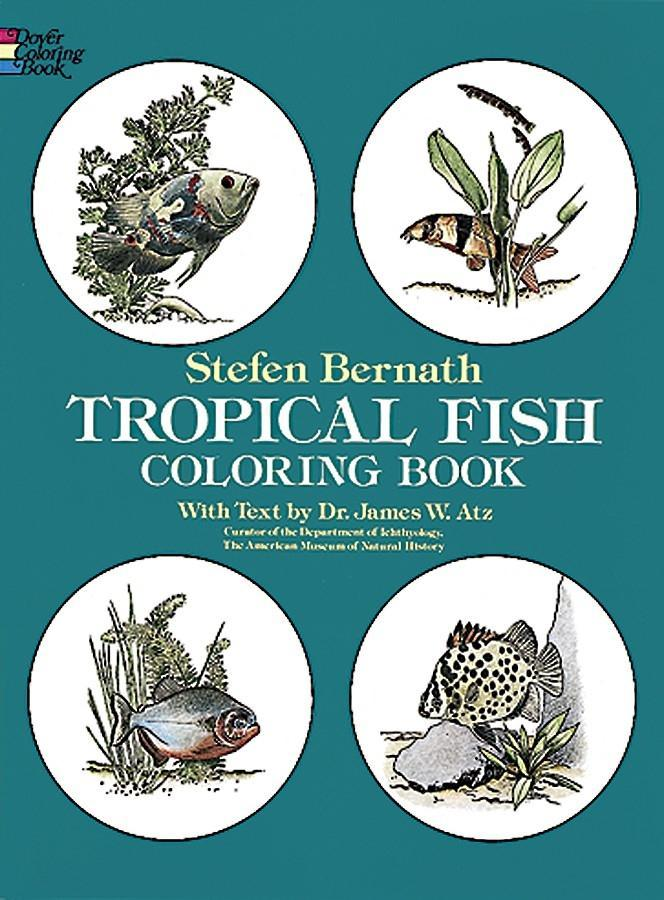 Tropical Fish Coloring Book als Taschenbuch