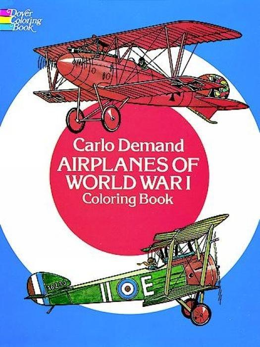 Airplanes of World War I Coloring Book als Taschenbuch