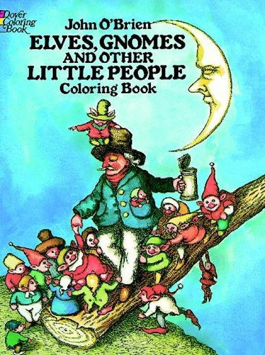 Elves, Gnomes, and Other Little People Coloring Book als Taschenbuch