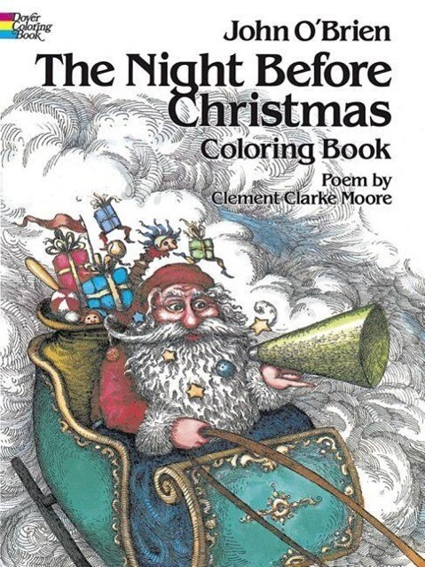 The Night Before Christmas Coloring Book als Taschenbuch