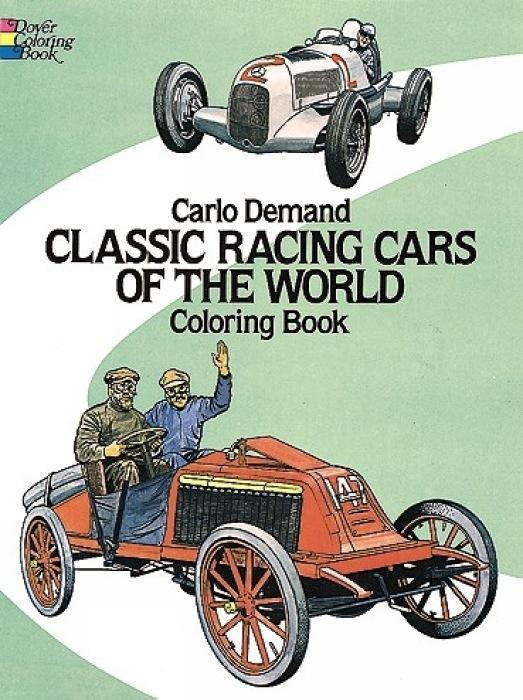 Classic Racing Cars of the World Coloring Book als Taschenbuch