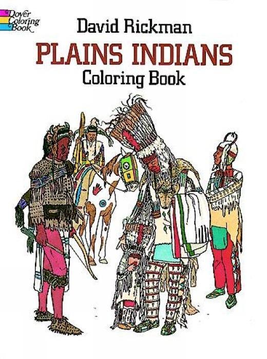 Plains Indians Coloring Book als Taschenbuch