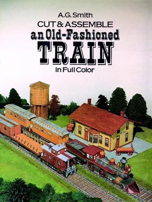 Cut & Assemble an Old-Fashioned Train in Full Color als Taschenbuch