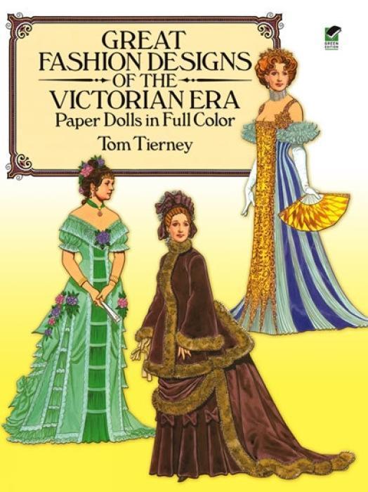 Great Fashion Designs of the Victorian Era Paper Dolls in Full Color als Taschenbuch
