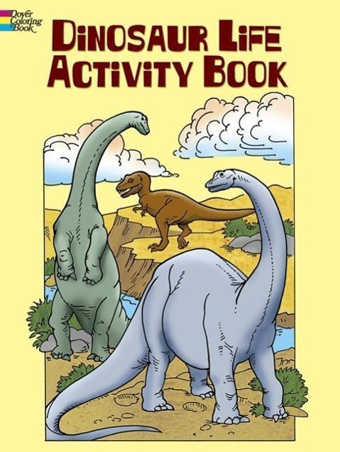 Dinosaur Life Activity Book als Taschenbuch