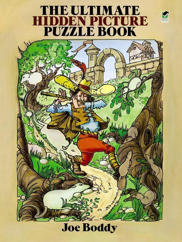 The Ultimate Hidden Picture Puzzle Book als Taschenbuch