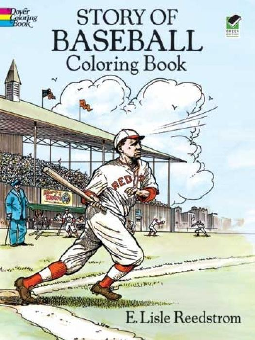 Story of Baseball Coloring Book als Taschenbuch