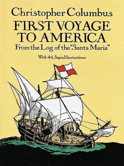 "First Voyage to America: From the Log of the ""Santa Maria"" als Taschenbuch"