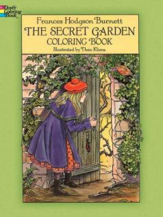 The Secret Garden Coloring Book als Taschenbuch