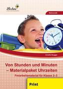 Von Stunden und Minuten - Materialpaket Uhrzeiten (PR)