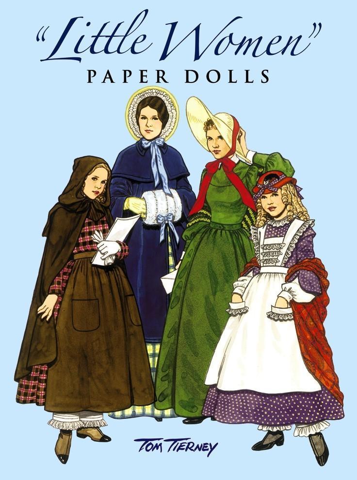 Little Women Paper Dolls als Taschenbuch