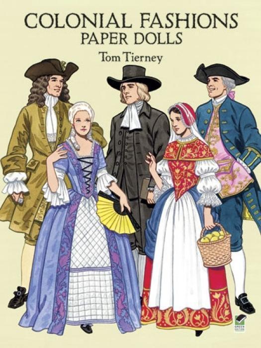 Colonial Fashions Paper Dolls als Taschenbuch