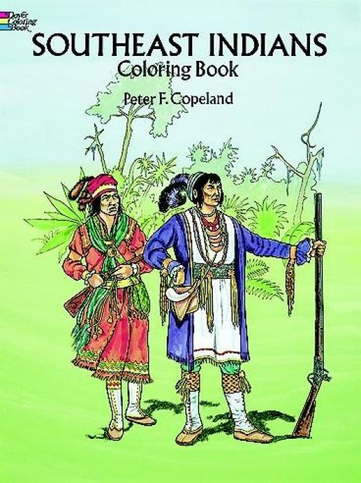 Southeast Indians Coloring Book als Taschenbuch