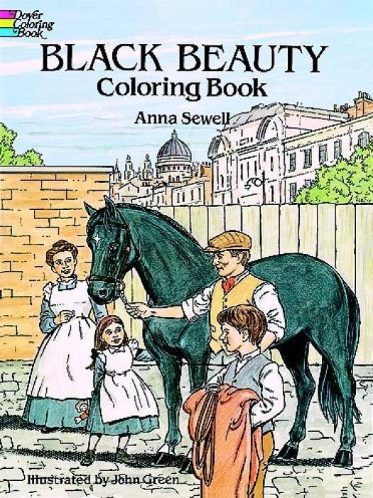 Black Beauty Coloring Book als Taschenbuch