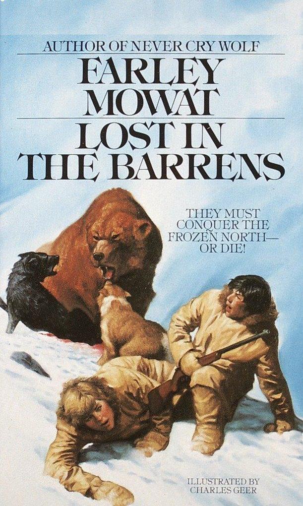 Lost in the Barrens als Taschenbuch