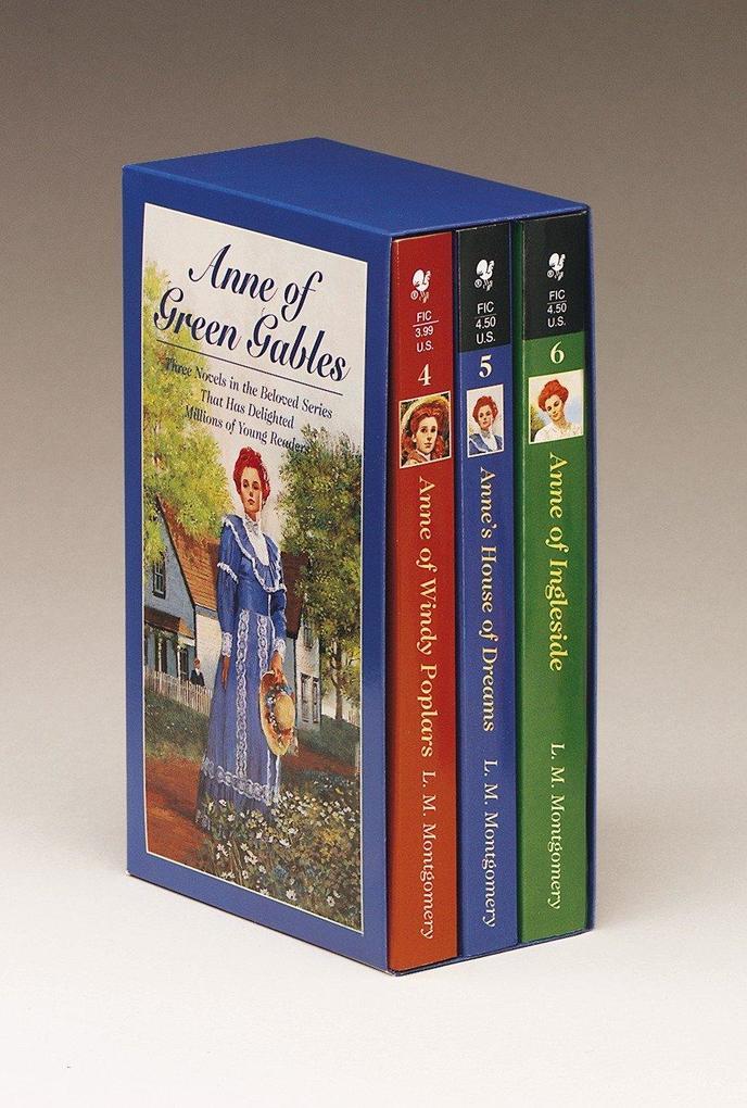 Anne of Green Gables 3-6 als Taschenbuch