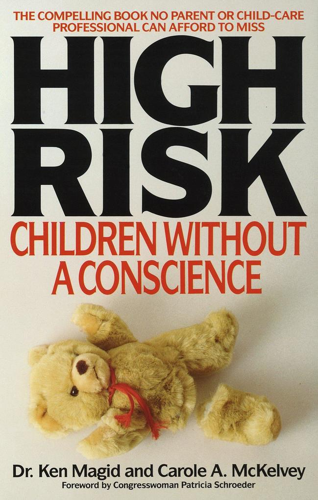 High Risk: Children Without a Conscience als Taschenbuch
