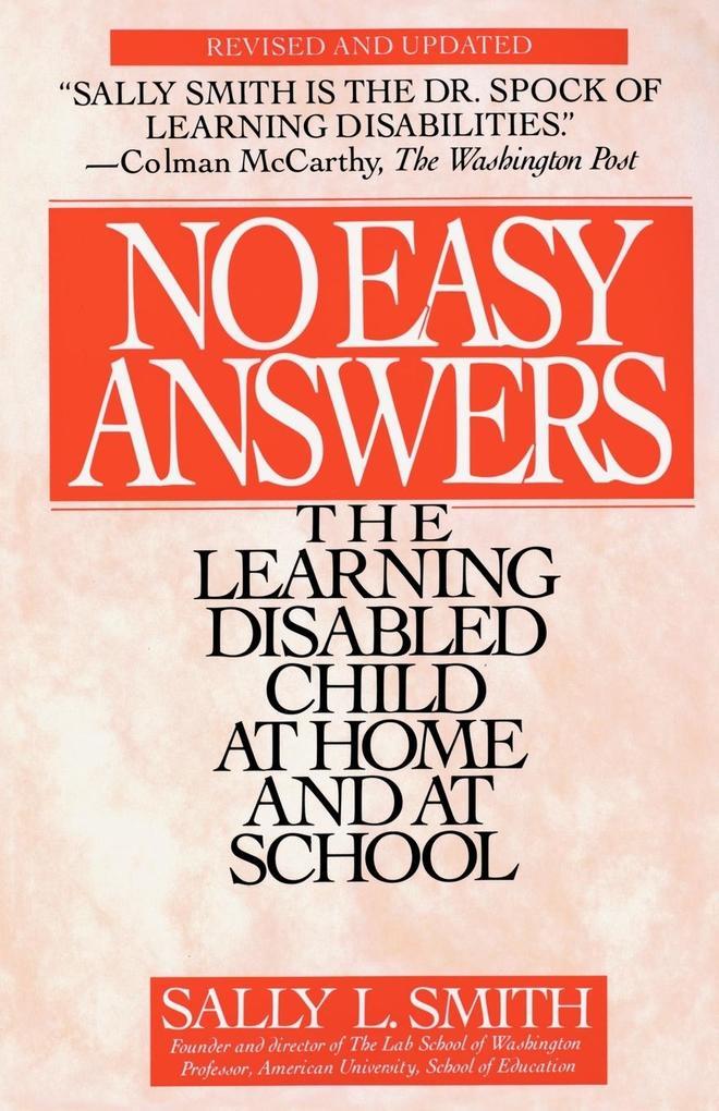 No Easy Answers als Taschenbuch
