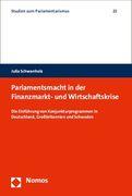 Parlamentsmacht in der Finanzmarkt- und Wirtschaftskrise