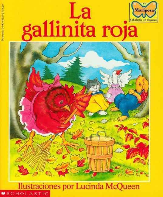 La Gallinita Roja: (Spanish Language Edition of the Little Red Hen) als Taschenbuch