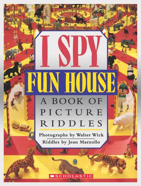 I Spy Fun House: A Book of Picture Riddles als Buch