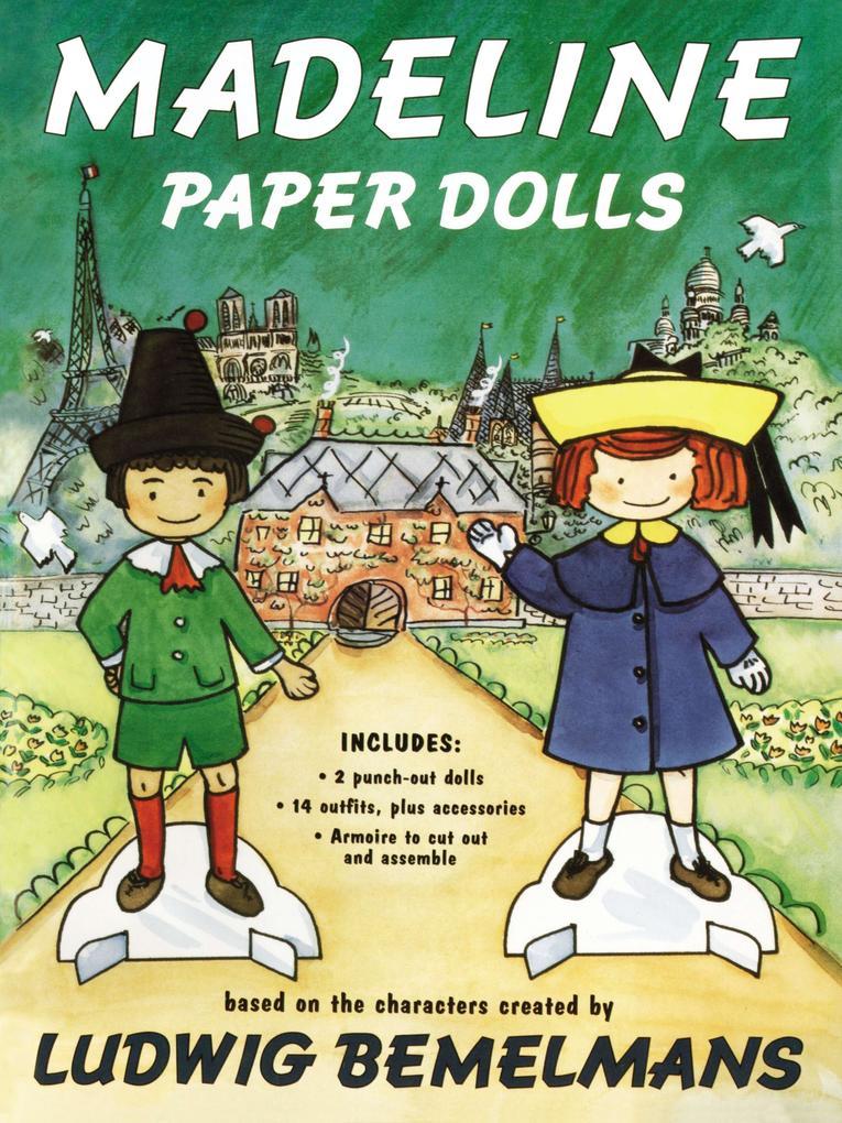 Madeline Paper Dolls als Taschenbuch