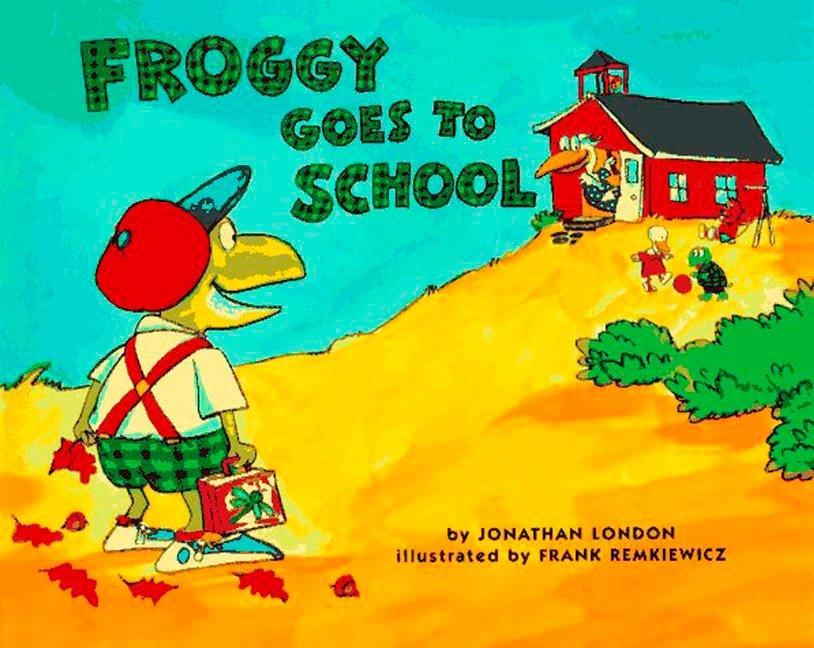 Froggy Goes to School als Buch
