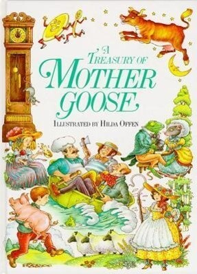 A Treasury of Mother Goose als Buch