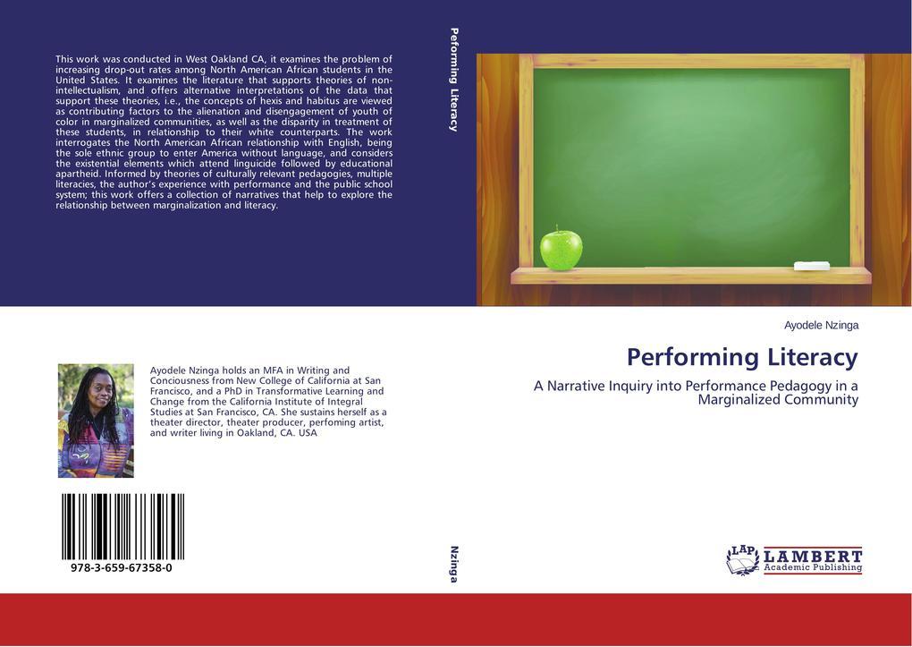 Performing Literacy als Buch von Ayodele Nzinga