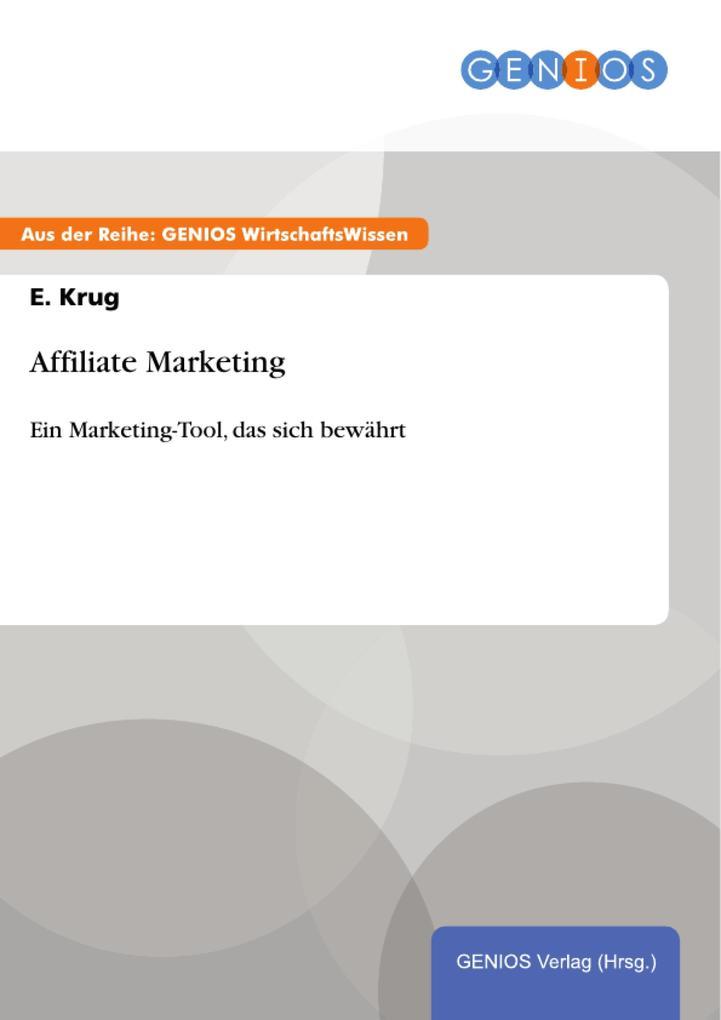 Affiliate Marketing als eBook Download von E. Krug
