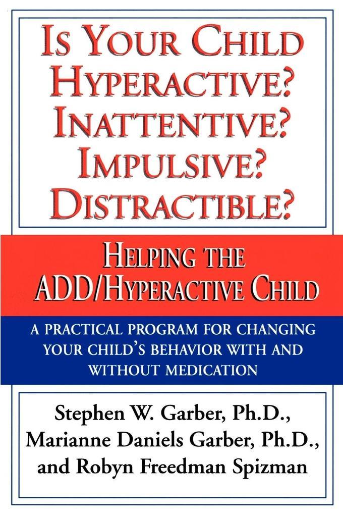 Is Your Child Hyperactive? als Taschenbuch