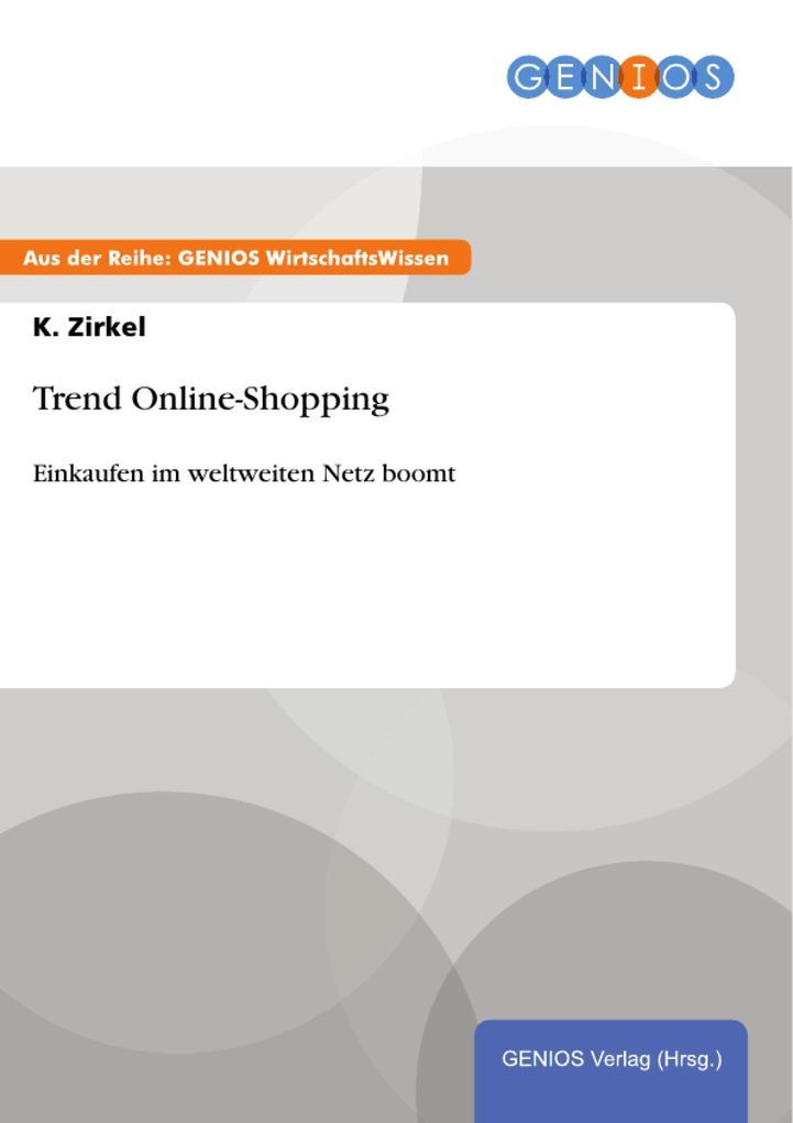 Trend Online-Shopping als eBook Download von K....