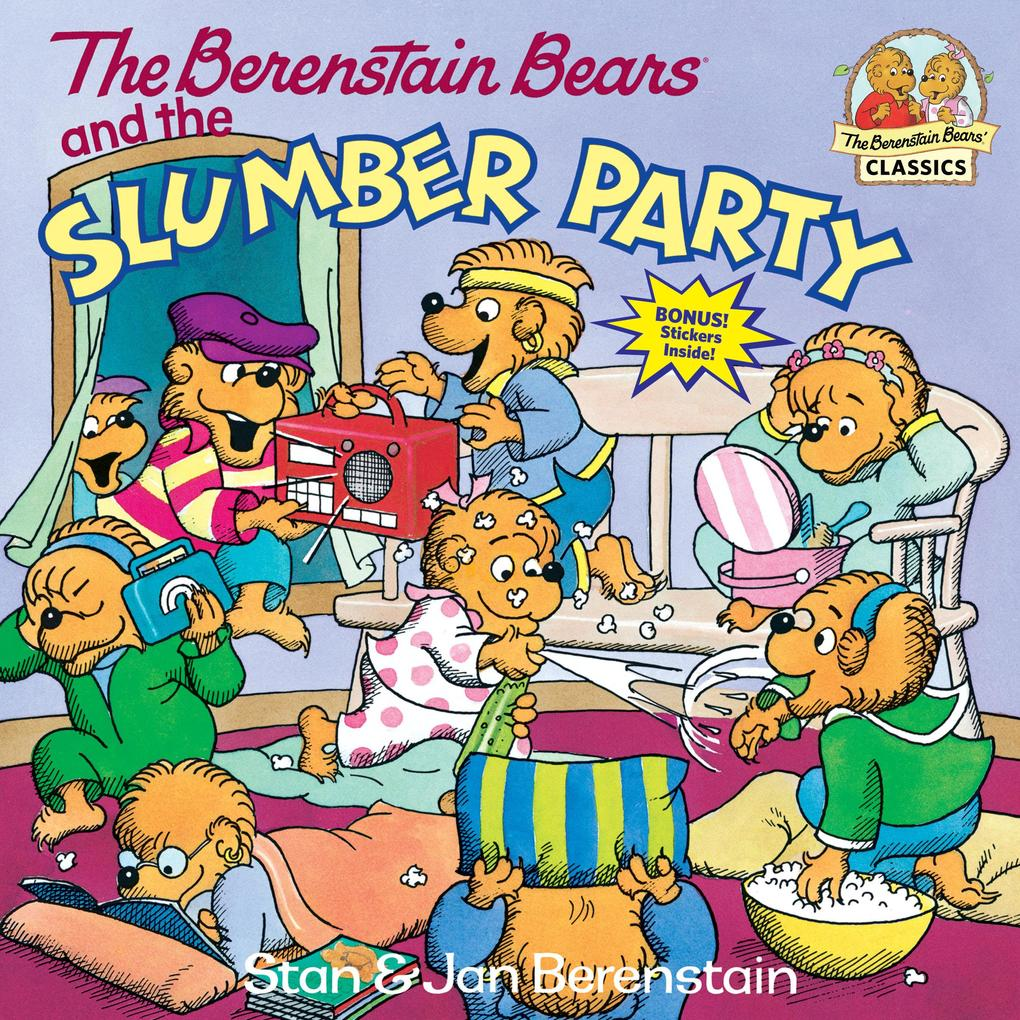 The Berenstain Bears and the Slumber Party als Taschenbuch