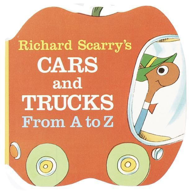 Richard Scarry's Cars and Trucks from A to Z als Buch
