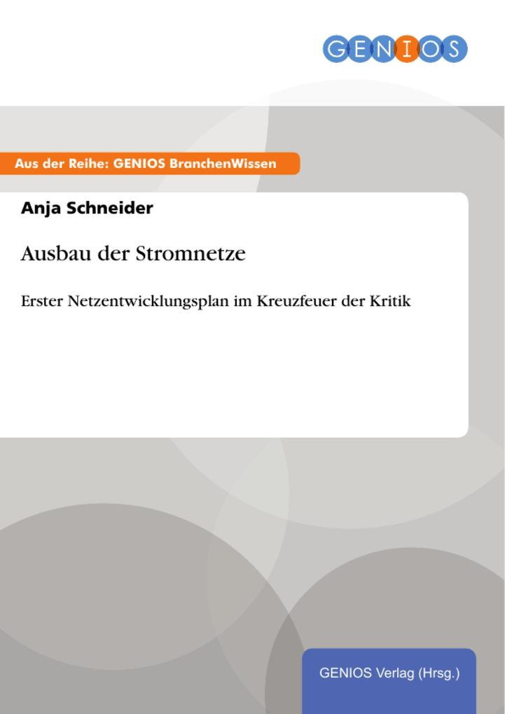 Ausbau der Stromnetze als eBook Download von An...