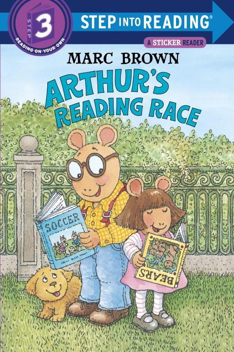 Arthur's Reading Race [With Two Full Pages of] als Taschenbuch