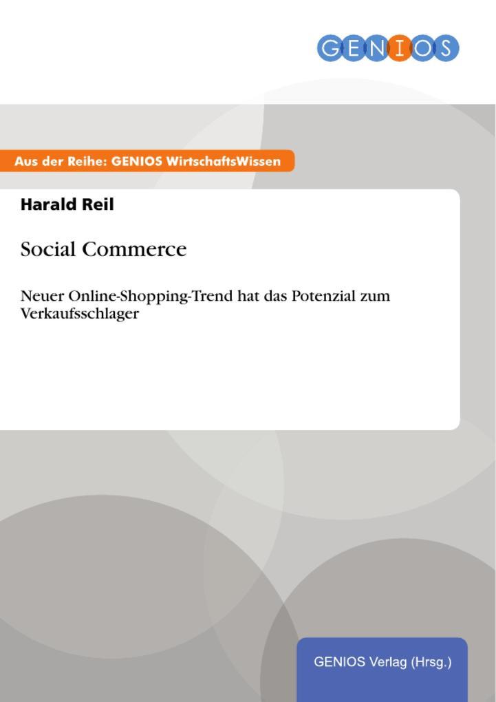Social Commerce als eBook Download von Harald Reil