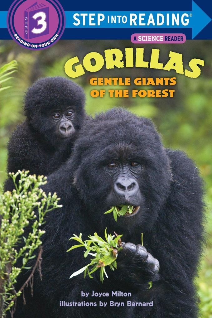 Gorillas, Gentle Giants Of The Forest als Taschenbuch