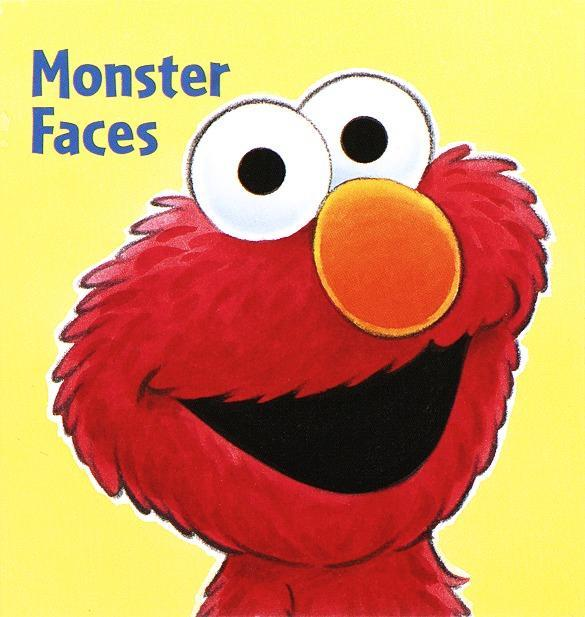 Monster Faces (Sesame Street) als Buch