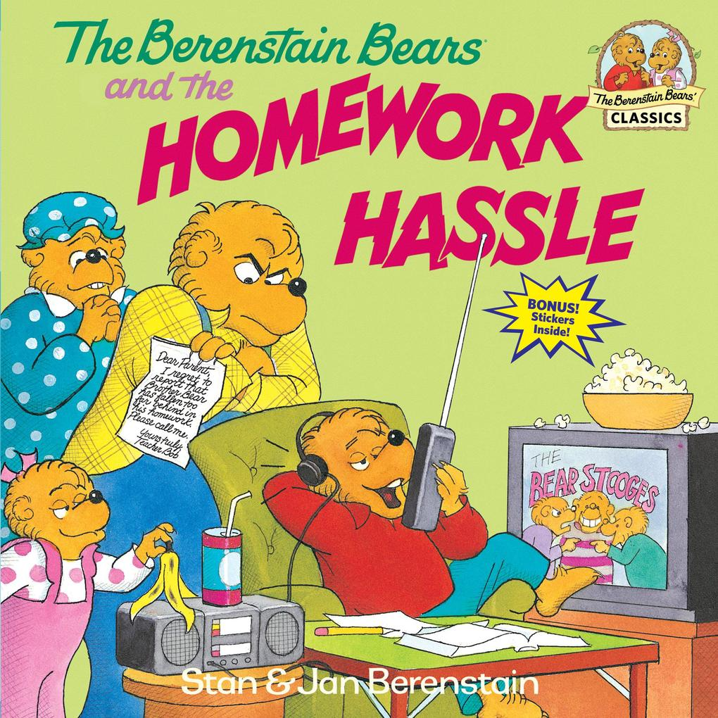 The Berenstain Bears and the Homework Hassle als Taschenbuch