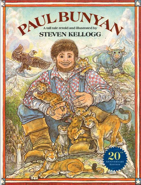 Paul Bunyan als Taschenbuch