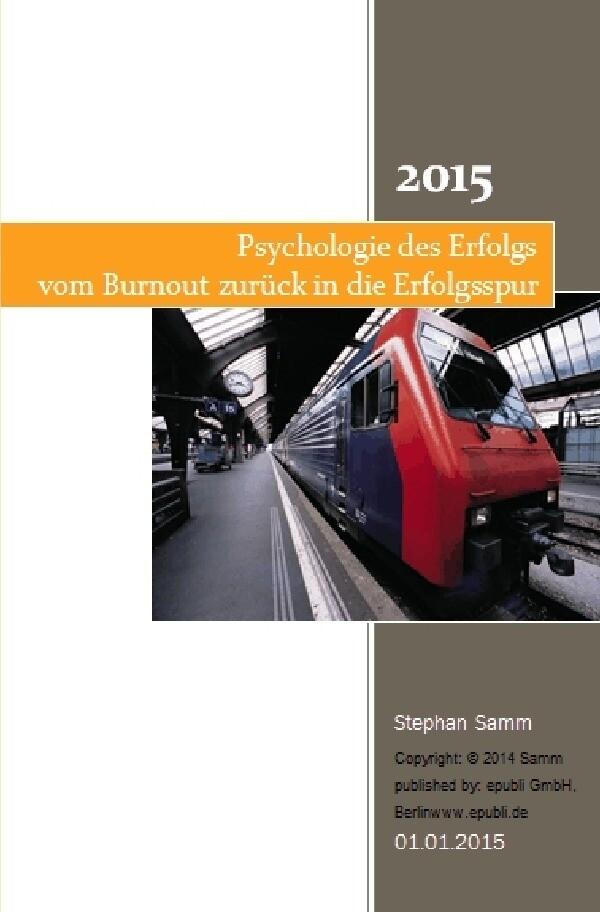Psychologie des Erfolgs als Buch von Stephan Samm