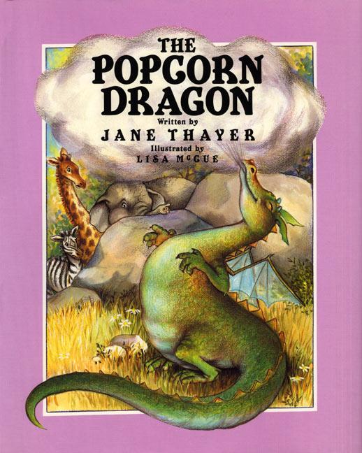 The Popcorn Dragon als Buch